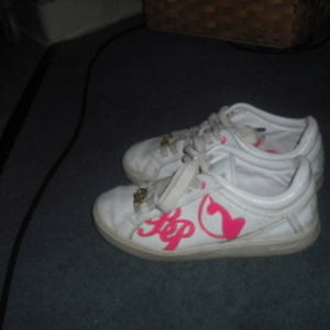 size 7 1/2 babyphat sneakers - used is being swapped online for free