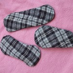 Reusable Menstrual Cloth Pads - different lots here with Panty Liners Sets is being swapped online for free