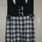 Checkered Tunic Top is being swapped online for free