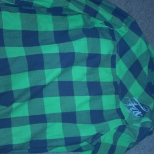 Green FOX Flannel is being swapped online for free