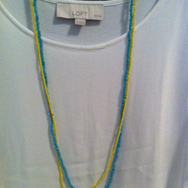 set of 2 Forever 21 beaded necklaces is being swapped online for free