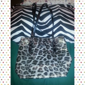 Cheetah LARGE Jacklyn Smith Purse is being swapped online for free