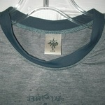 Prana Small Gray/Navy Ringer Tee  is being swapped online for free