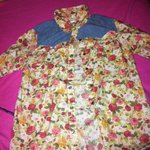 New Without Tags Floral/Denim Vintage Button Up Forever 21 is being swapped online for free