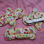 Reusable Menstrual Cloth Pads - different lots here with Liners is being swapped online for free