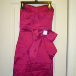 Beautiful Magenta Pencil Cut Dress is being swapped online for free