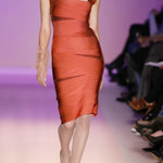 NEW Herve Leger Assymetric Flame Beaded Bandage Dress XS is being swapped online for free