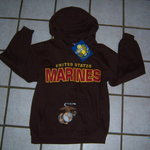 NEW brown MARINES sweatshirt is being swapped online for free
