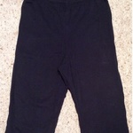 E-vie Black Short/ Cropped Leggings - UK Size 8. is being swapped online for free
