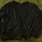 Stretch animal print jacket size:10 is being swapped online for free
