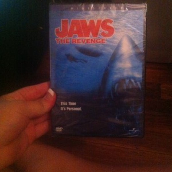 Jaws Collection (unopened DVDs) is being swapped online for free