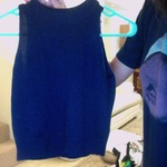 Nvy Blue sleeveless -F21 ♥ ☾ ☆ ♧  is being swapped online for free