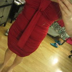 Red party/club dress is being swapped online for free