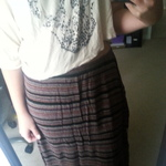 element maxi skirt is being swapped online for free