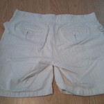 White High-Waisted Linen Shorts is being swapped online for free