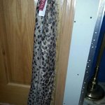 NWT Cheetah glitter scarf! :) is being swapped online for free