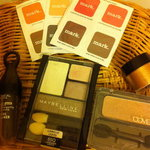 eye shadow lot - Loreal, Maybelline, Cover Girl, Mark is being swapped online for free