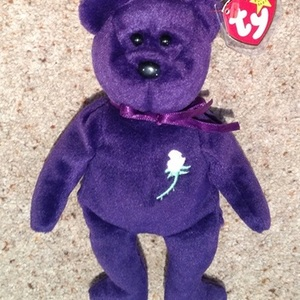 First Edition Ty Princess Diana Beanie Baby 1997. is being swapped online for free