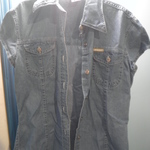Denim blouse- M is being swapped online for free