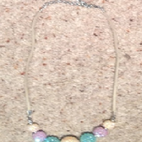 Dorothy Perkins Crystal Necklace - multi colour, shambala style.  is being swapped online for free