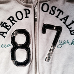 aeropostale zipper hoodie is being swapped online for free