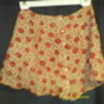 Gorgeous floral skirt by express - xs is being swapped online for free