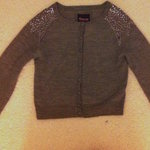 Grey Sequined Short Cardigan is being swapped online for free