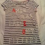 American Eagle Striped Tee is being swapped online for free