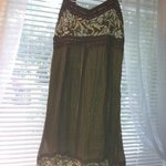 rue 21 brown sparkly sun dress is being swapped online for free