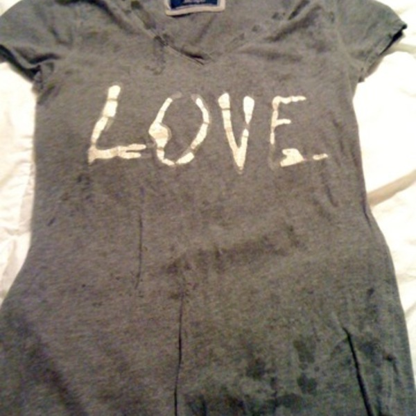 American Eagle Love Tee is being swapped online for free