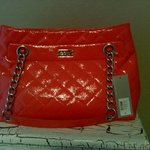 Kenneth Coal Reaction Coral Tote NWT is being swapped online for free