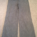 Marks and Spencer Grey Pinstripe Trousers - Size UK 12. is being swapped online for free