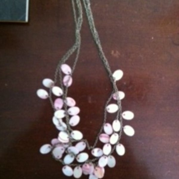 Charles Klein Layer Pink/Pearly Necklace is being swapped online for free