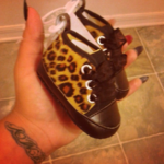 Cheetah Baby Shoes is being swapped online for free