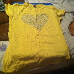 Yellow Christian Shirt is being swapped online for free