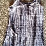 b/w Tye dye Tank is being swapped online for free