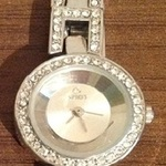 Spirit Silver Diamante/ Jewel Watch - One Size. is being swapped online for free