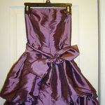 Beautiful Purple Victorian Mini Dress is being swapped online for free