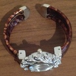Vintage Jeweled Bangle/ Cuff Watch - One Size. is being swapped online for free