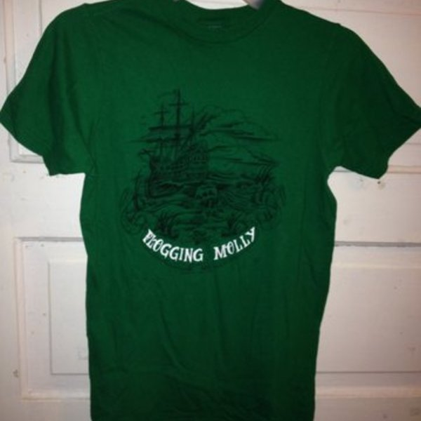 Women's small Flogging Molly t shirt is being swapped online for free