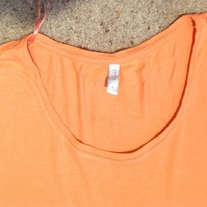 Only Orange Oversize/ Slouch Top - Size UK 8. is being swapped online for free