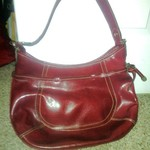 LIZ CLAIBORNE RED LEATHER PURSE is being swapped online for free