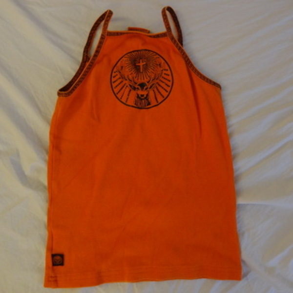 Orange Jagermeister Tank Top is being swapped online for free