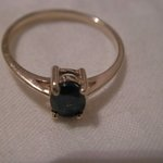 Gold / Blue gemstone Ring is being swapped online for free
