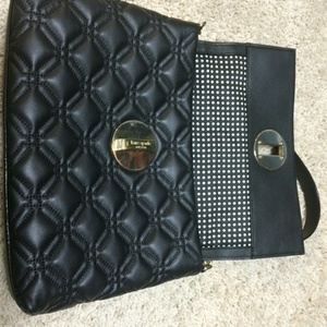 Black Kate Spade quilted Bag is being swapped online for free