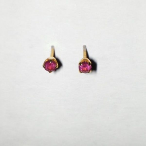 Amethyst & Gold Earrings  is being swapped online for free