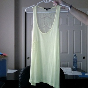 Lace back tank Forever 21 medium is being swapped online for free