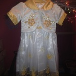 White and Yellow 3t Easter Dress is being swapped online for free