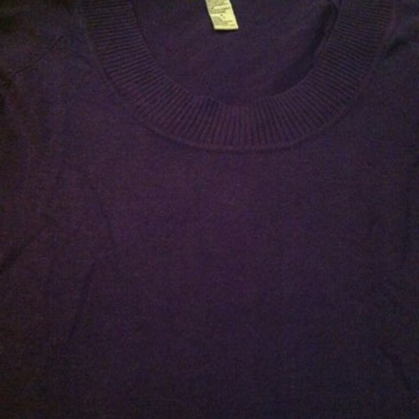 Forever 21 purple sweater is being swapped online for free