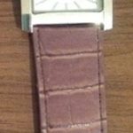 Philip Mercier Crocodile Print Strap Watch - One Size. is being swapped online for free